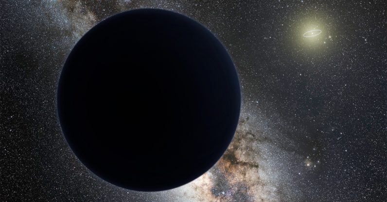A mysterious planet may be hiding at the edge of our solar system