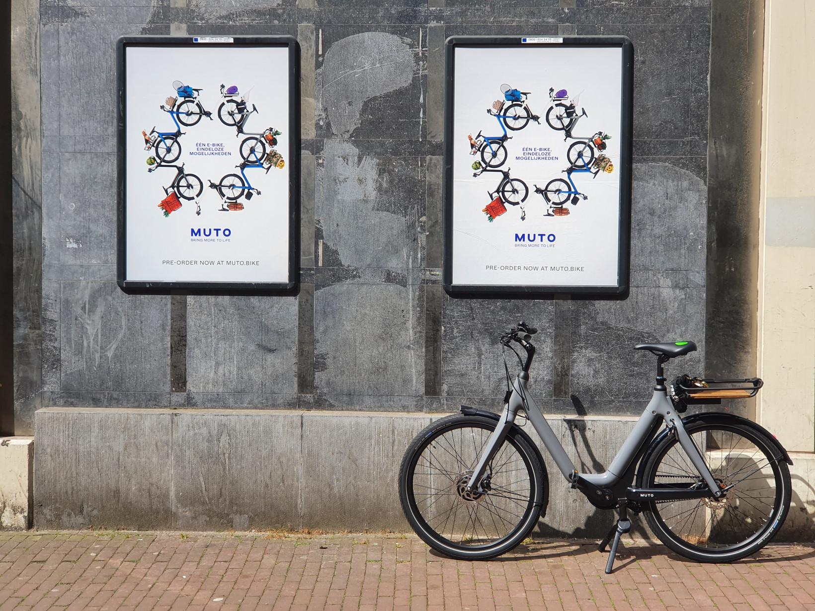 muto, bicicleta eléctrica, revisión, amsterdam