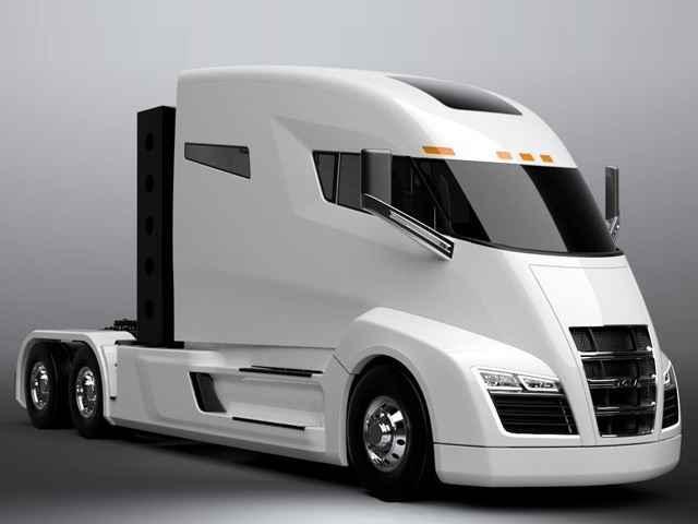 Nikola, tesla, truck, hydrogen
