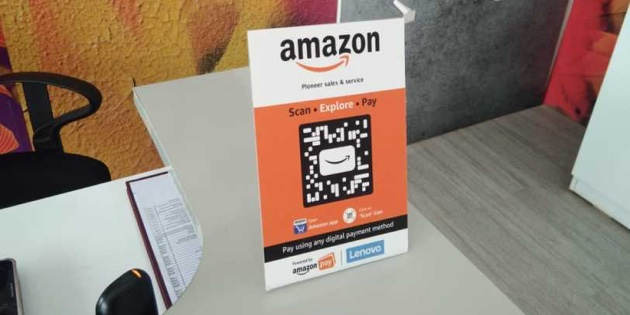 Amazon wants to turn Indian retail shops into digital contactless storefronts — with QR codes