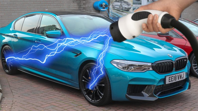 BMW is reportedly working on a 1,000HP all-electric M5 that'll rival Tesla's Plaid Model S