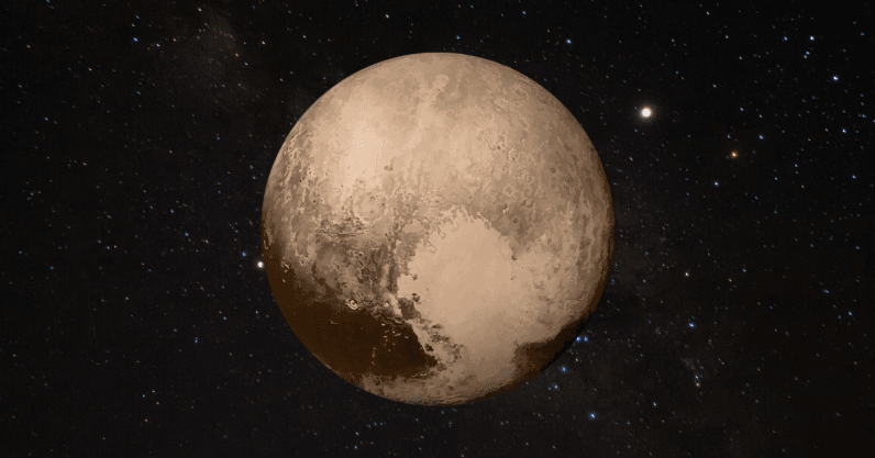 Life inside Pluto: hot birth may have created internal ocean on dwarf planet