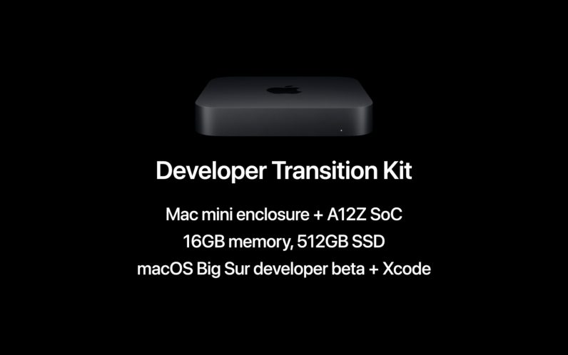 Apple's Developer Transition Kit is a $500 Mac Mini with an ARM chip