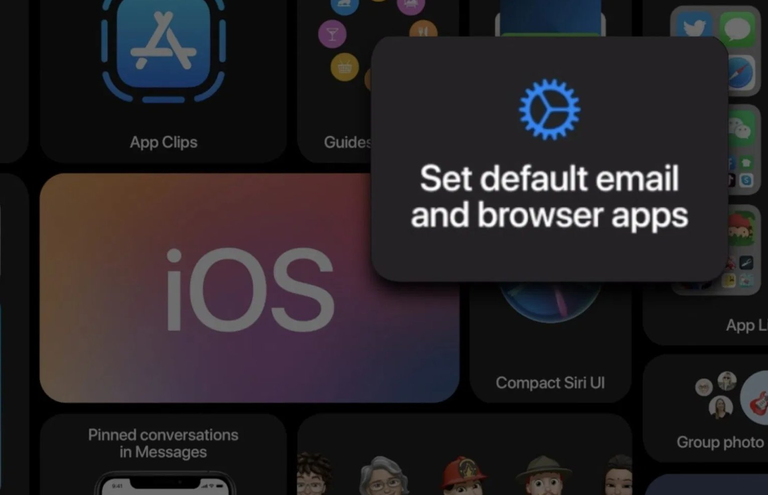 How to set a default mail app in iOS 14