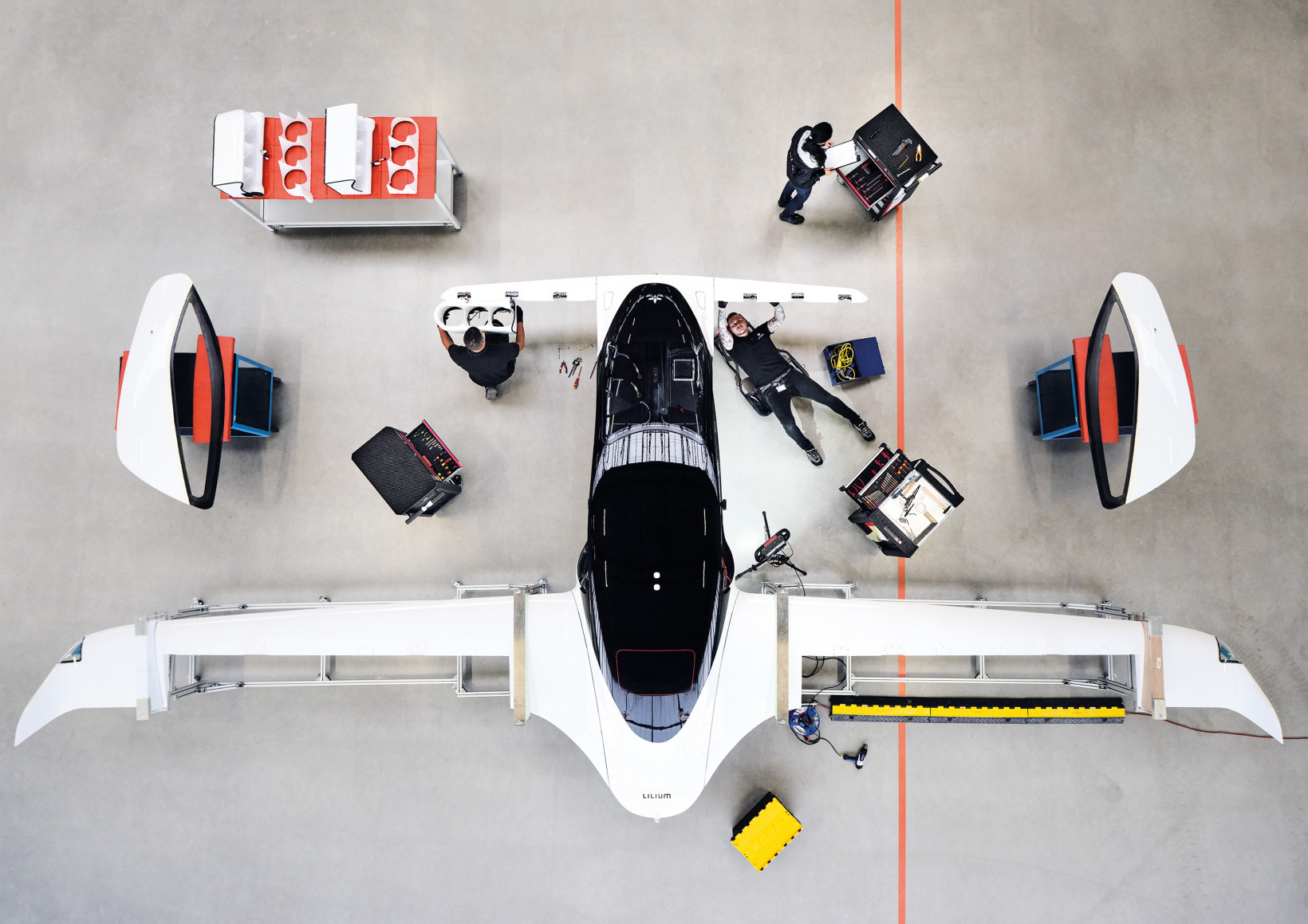 lilium, evtol, taxi, flying, drone