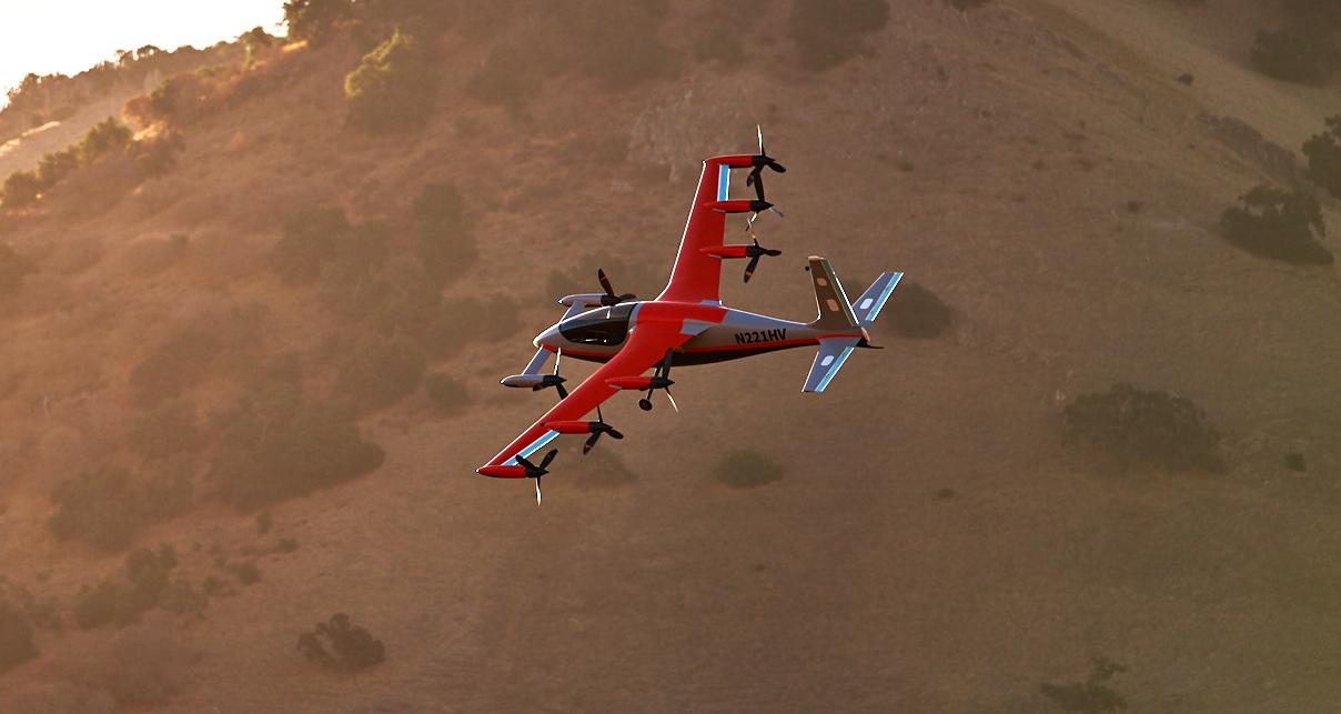 kittyhawk, heaviside, flyer, drone, jet, evtol, electric