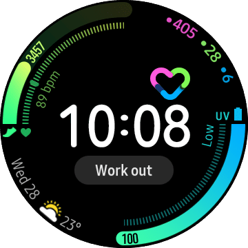 Samsung's Galaxy Watch 3 watch face