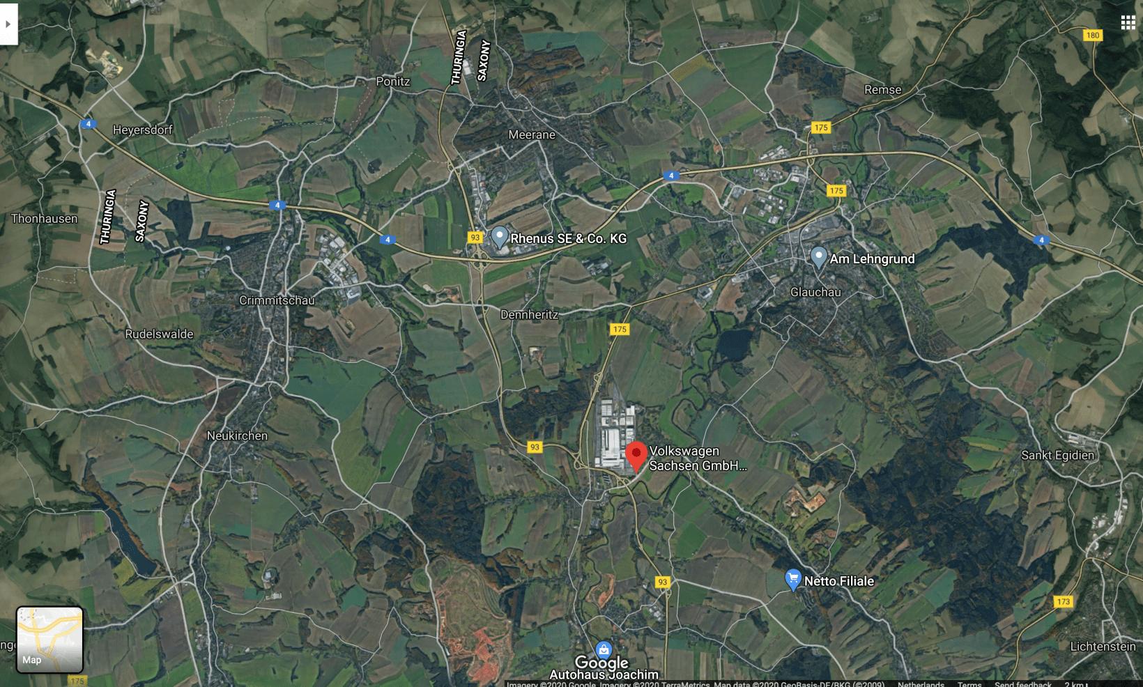 Zwickau, germany, saxony, volkswagen
