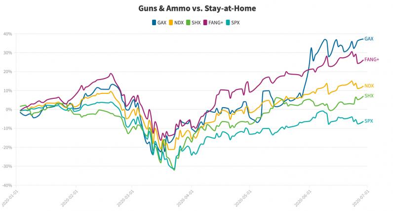 stock, guns and ammo