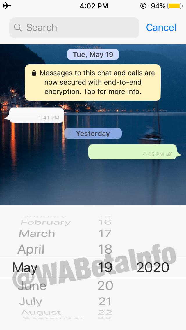 Captura de pantalla - WABetaInfo