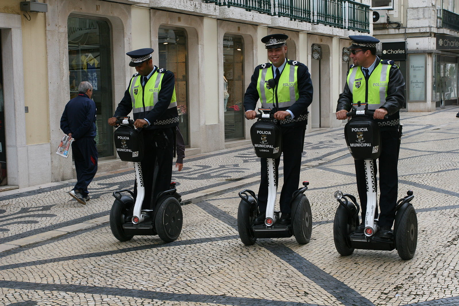 segway, police