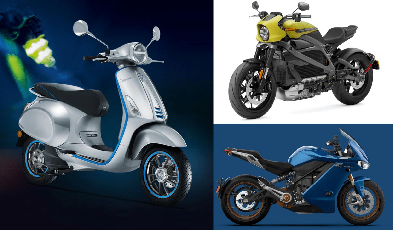 vespa, harley-davidson, zero, motorbikes, scooters, two-wheels