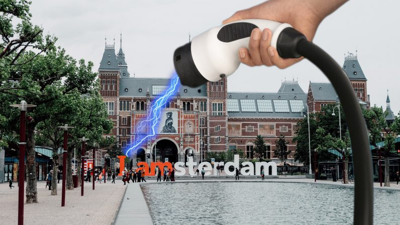 Dutch political party lobbies to electrify more than half of Amsterdam's gas stations