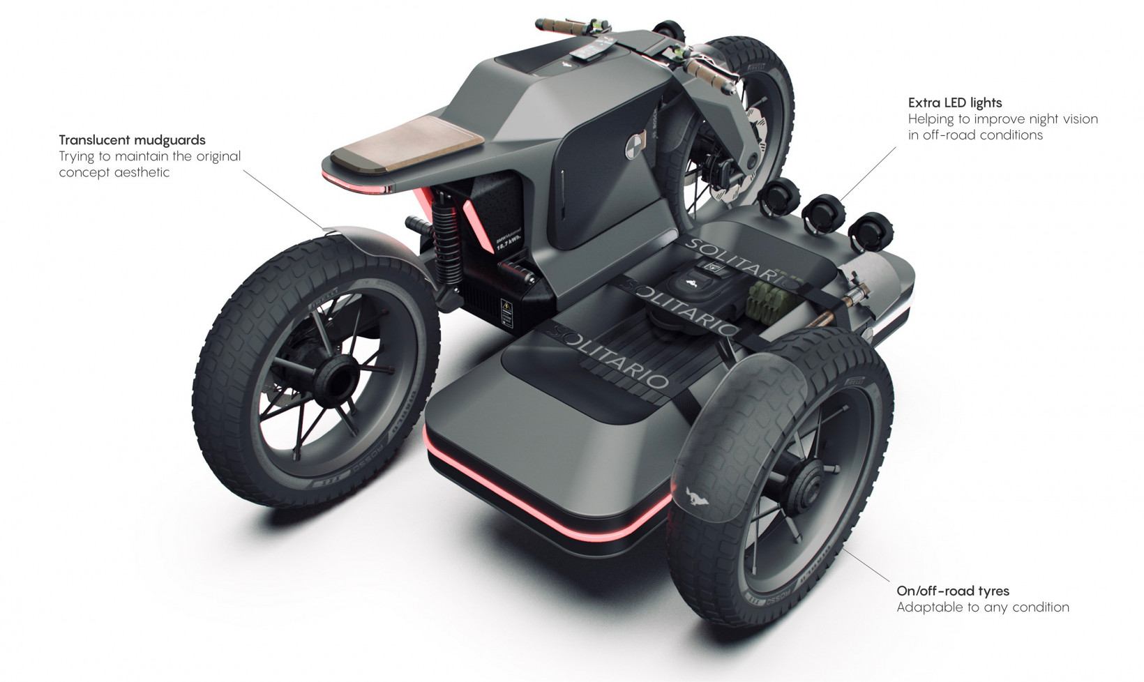 The future of electric bikes according to post-war inspired BMW concept art