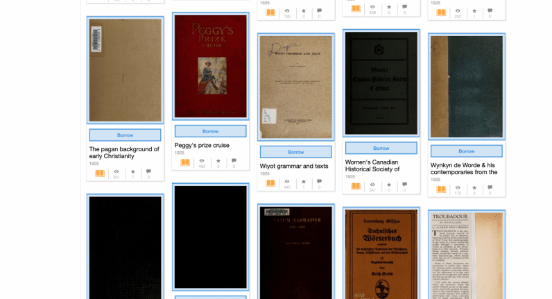 internet archive, books, ebooks
