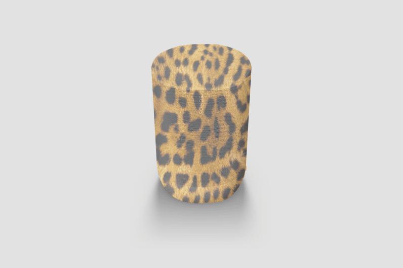 the sonos move leopard print
