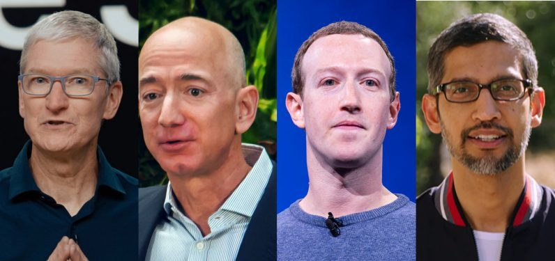 Amazon, Apple, Facebook, and Google CEOs to face antitrust committee that owns $100K+ of those companies' stocks