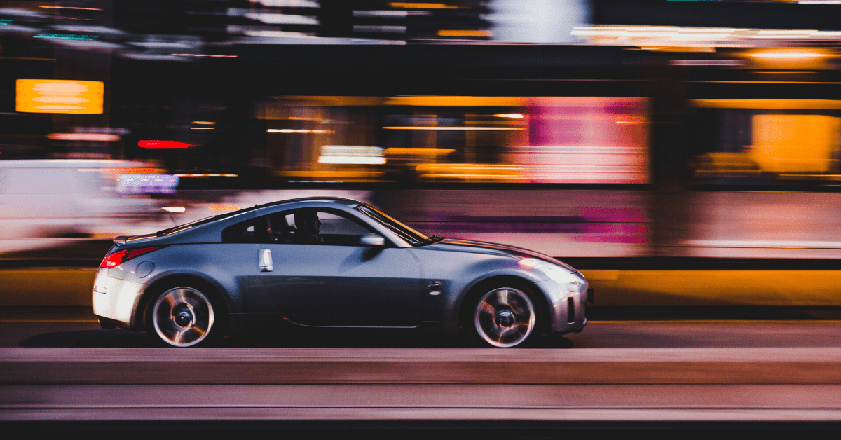 How does your driving speed affect your car's emissions?