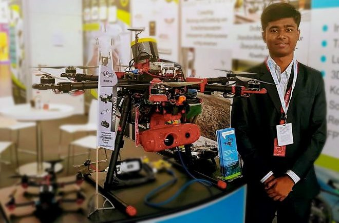 India's drone 'prodigy' reportedly passed off foreign drones as his own