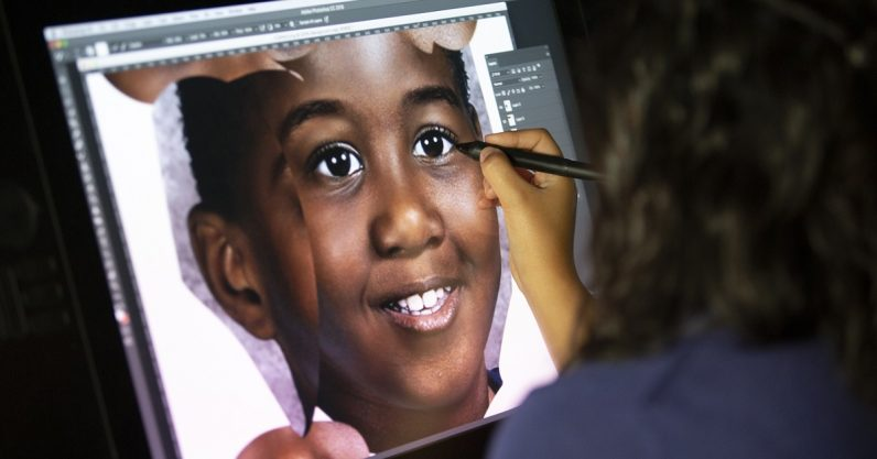 How Adobe Photoshop is used in the search for missing children
