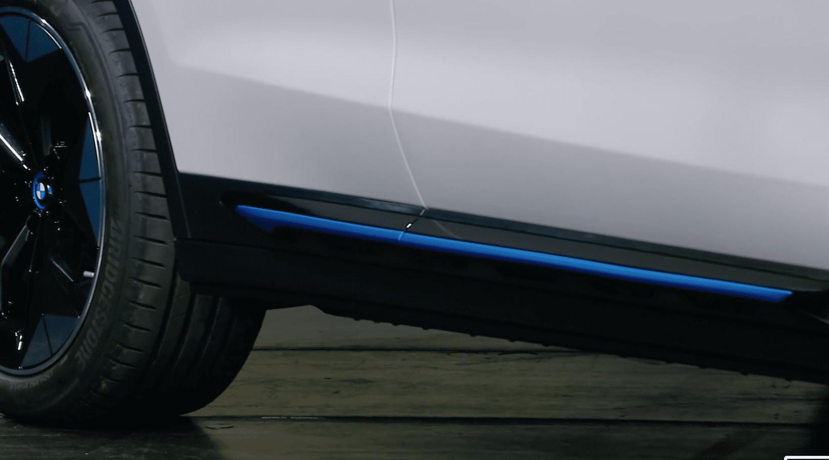 bmw, car, side runner, blue