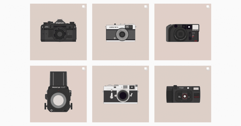 instagram, analog photography, film cameras