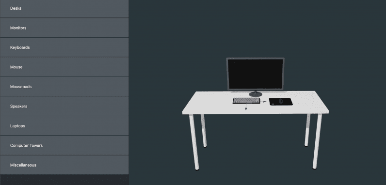 desk, app