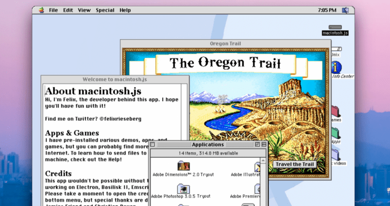 This app lets you experience Mac OS like it was 1991 all over again