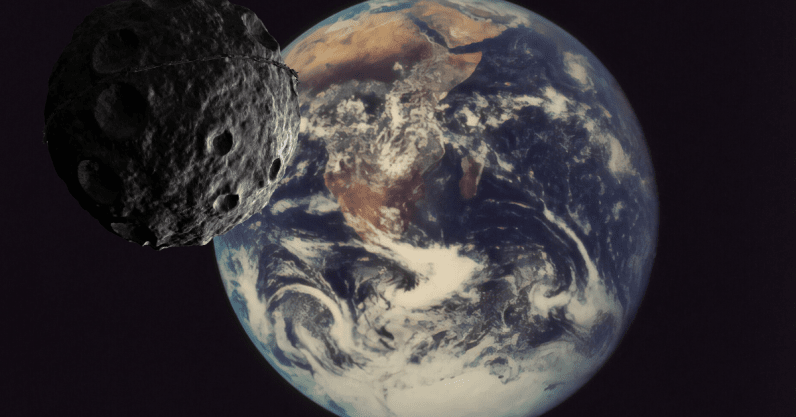 Asteroids may be the reason Earth is covered in water