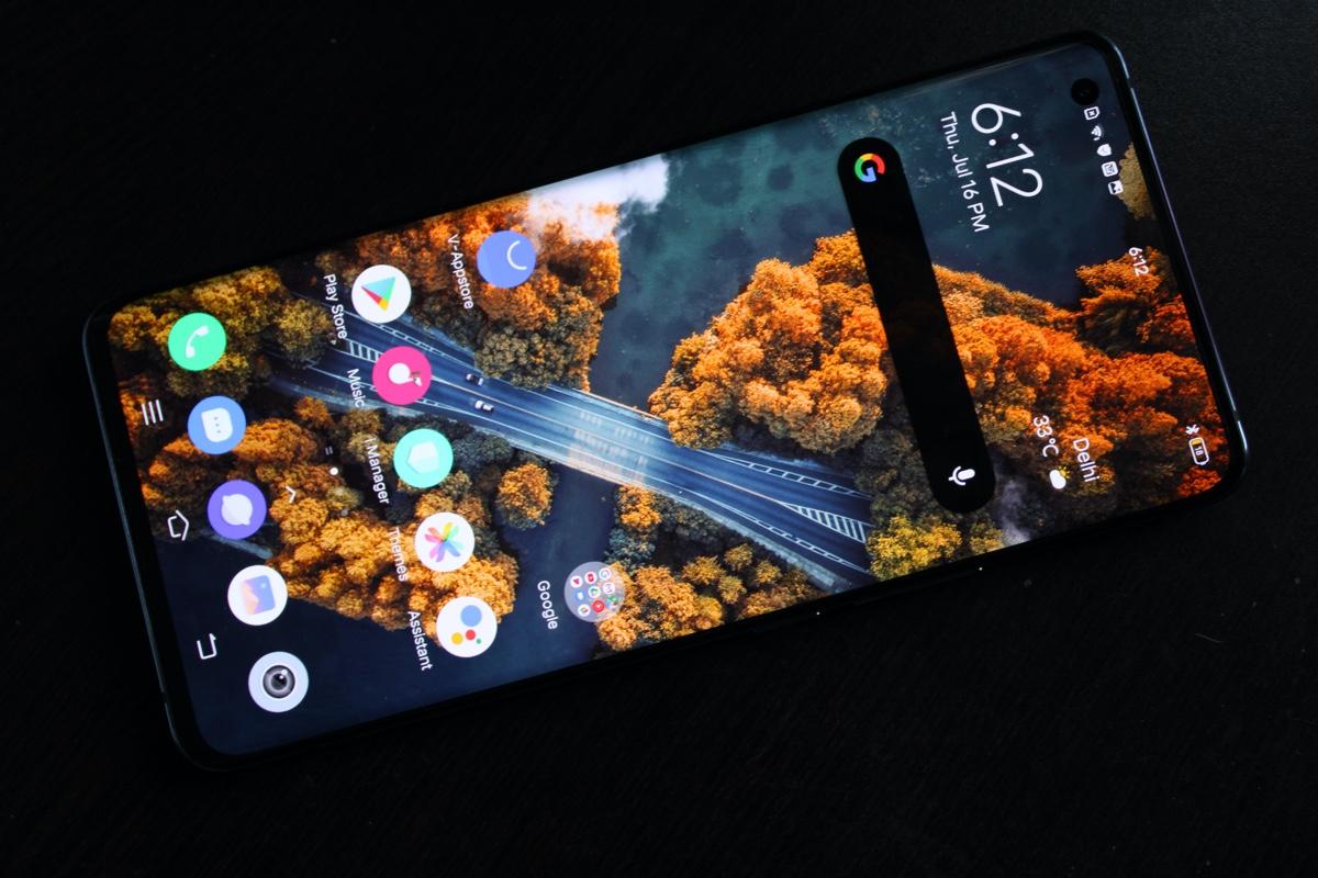 Vivo X50 Pro screen