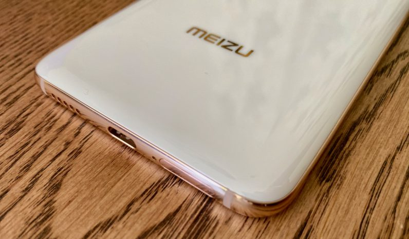 meizu 17 pro white and gold