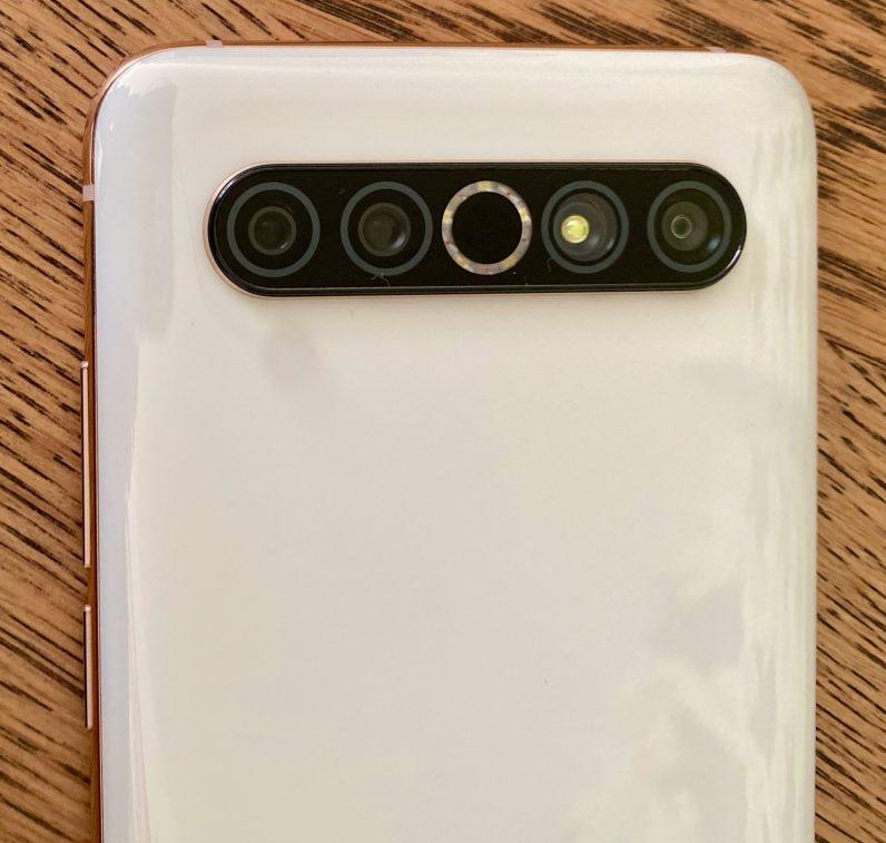 meizu 17 pro camera array