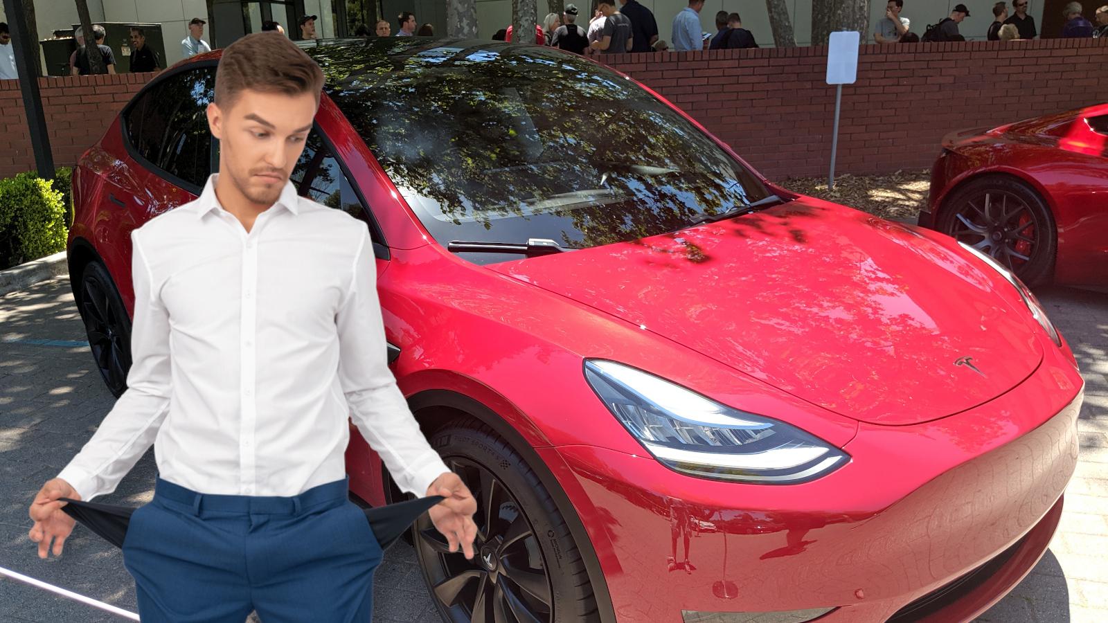 Tesla-model-y-price-cut-moins cher-abordable-long-range-single-motor-car