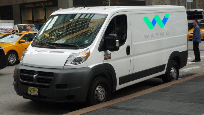 Waymo is cramming its autonomous vehicle tech in Fiat Chrysler's cargo vans