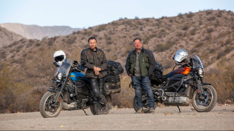 Ewan McGregor will ride an electric Harley through South America in a new Apple TV+ show