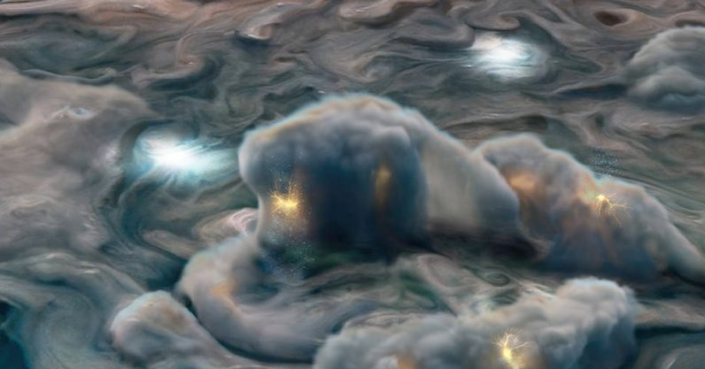Jupiter's atmosphere is regulated by ammonia storms, research reveals