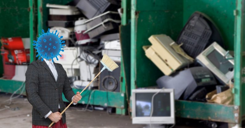Microbes are cleaning up all your e-waste — here's how