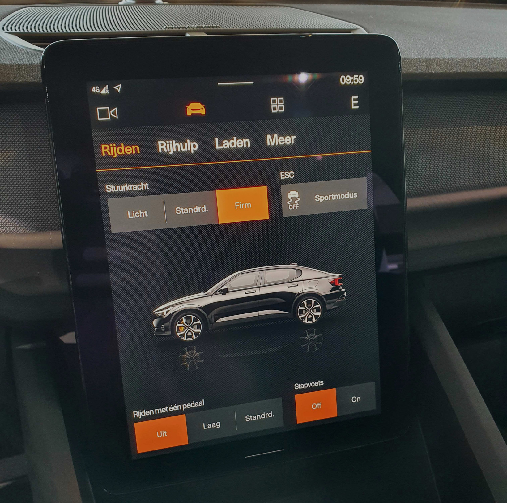 polestar 2, one-pedal, driving, charging, ev