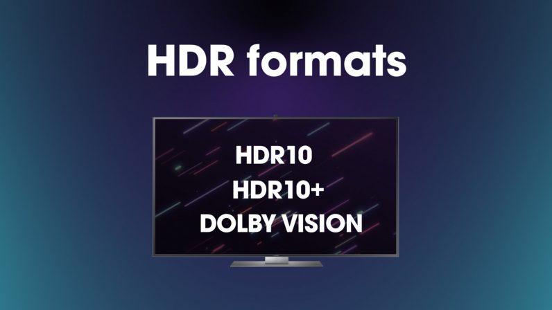 4K blu-ray HDR formats