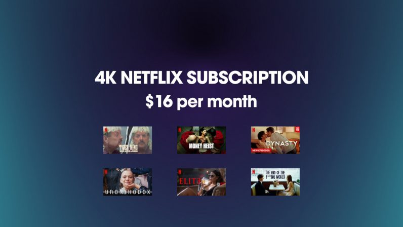 Netflix 4K subscription