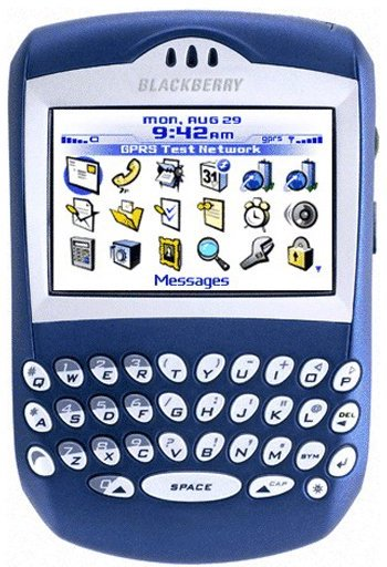 BlackBerry 6230 brand license