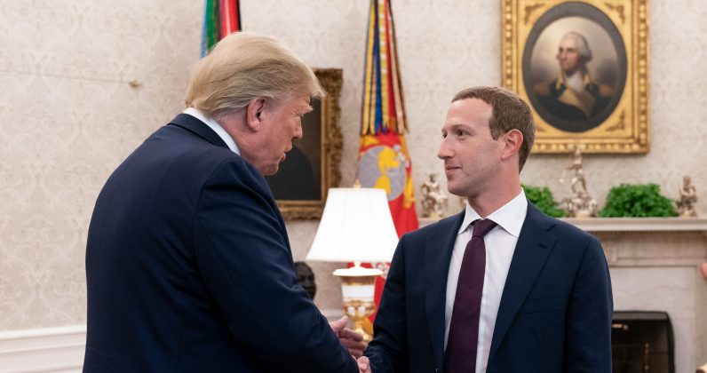 Zuckerberg lobbied against TikTok in a private meeting with Trump, report reveals