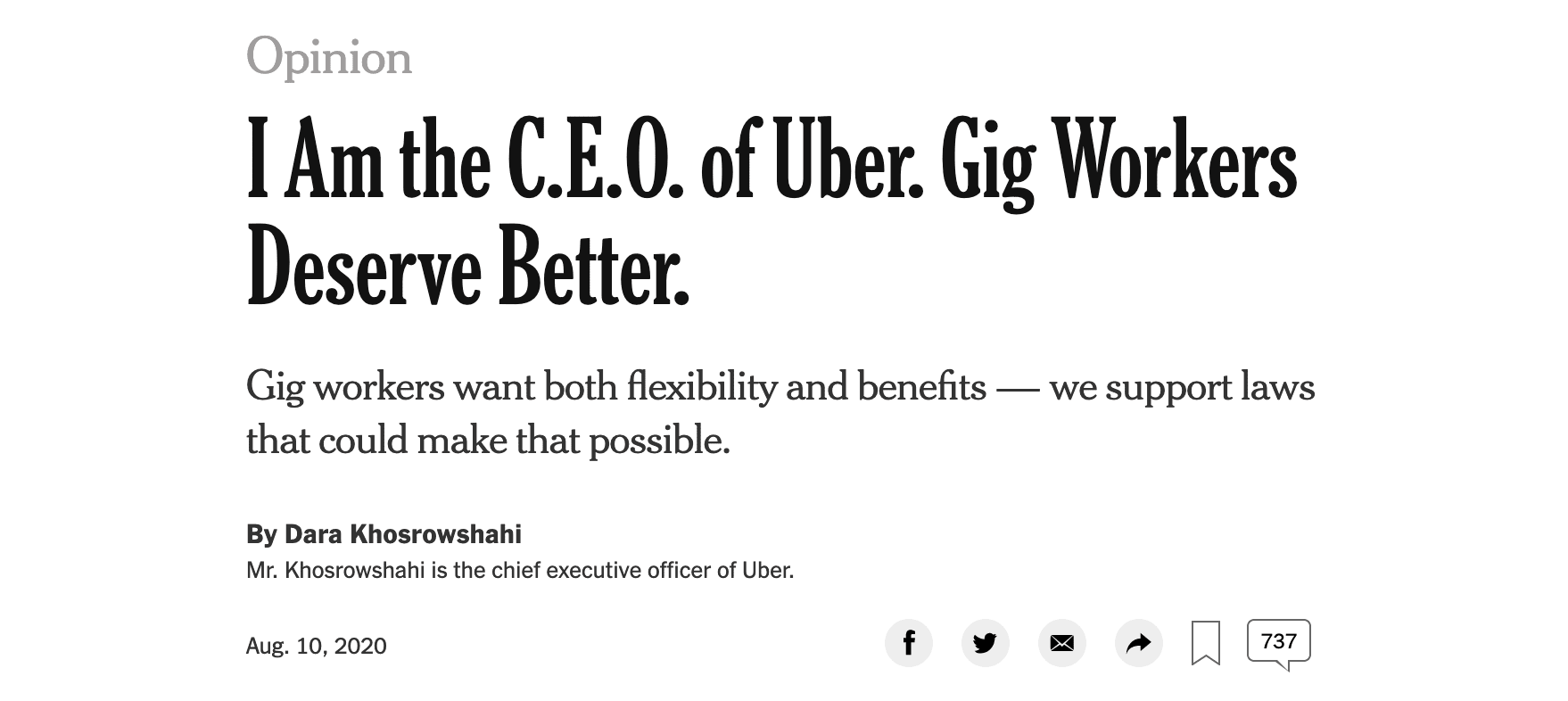 uber, lyft, ceo, op-ed