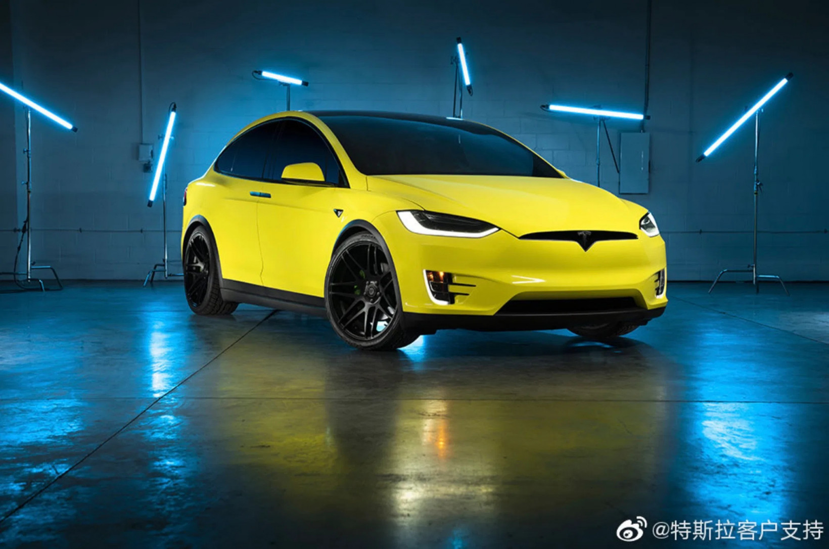 car, ev, wrap, yellow