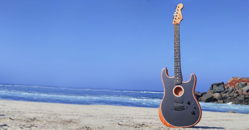 Review: I just can't get over how good Fender's Acoustasonic Stratocaster sounds - the next web