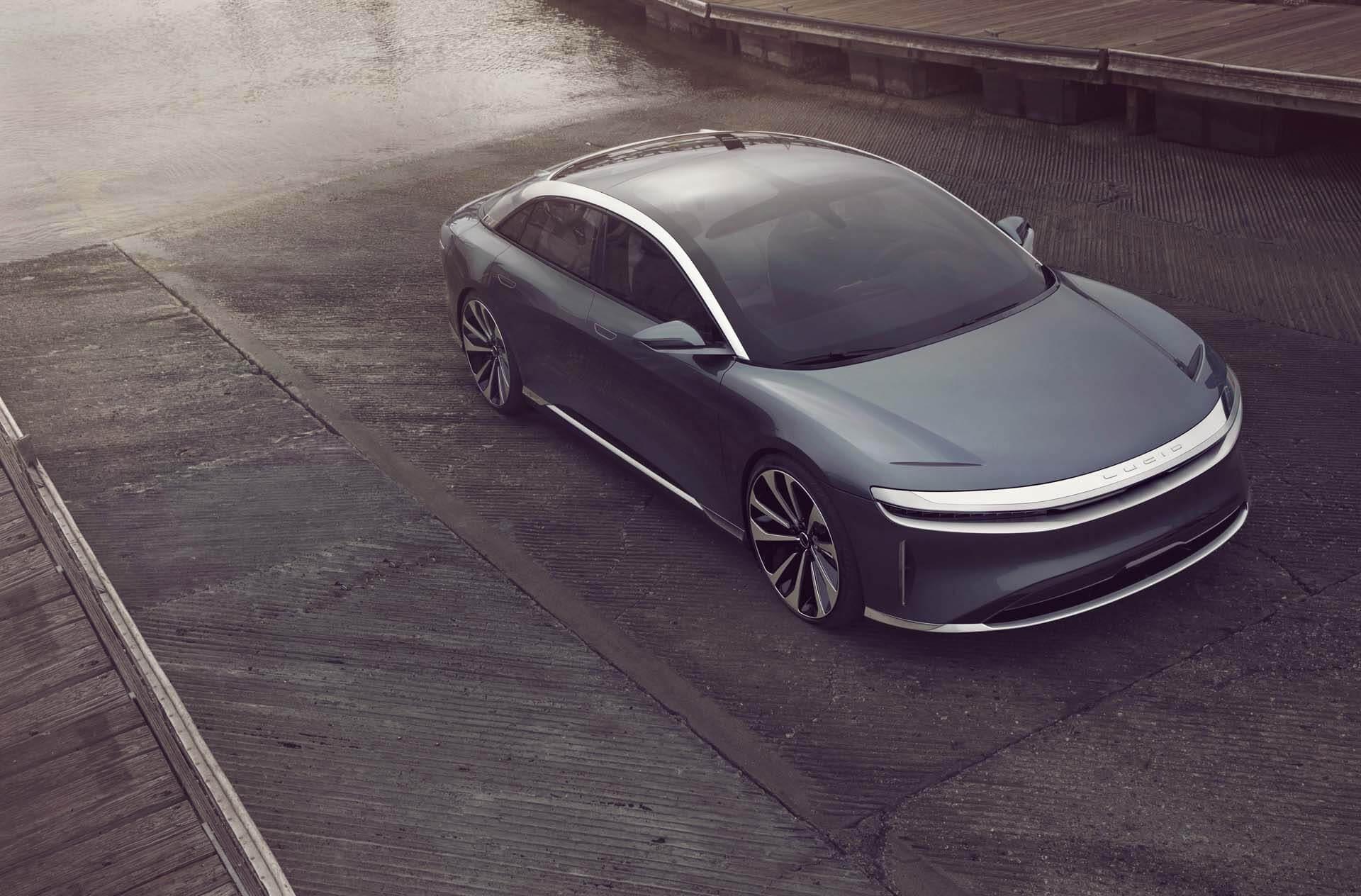 lucid, air, range, car, electric vehicle, luxury