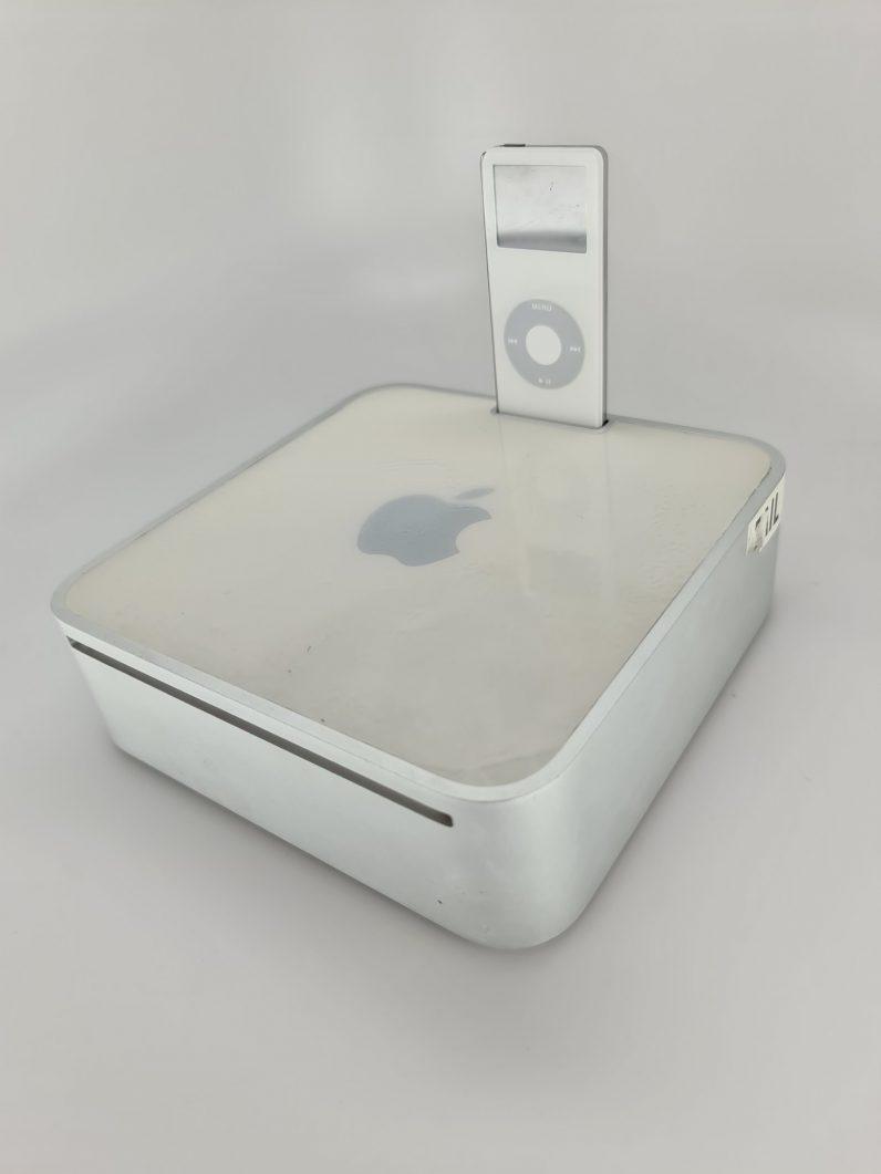 mac mini with an iPod dock prototype 1