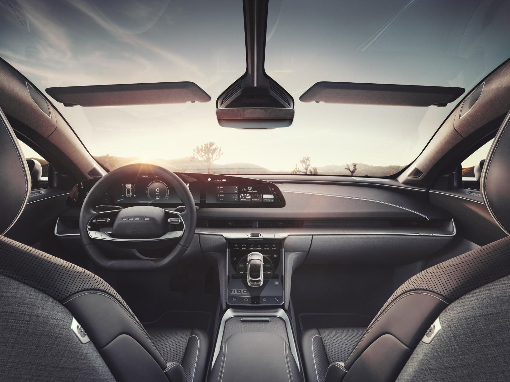 interior, car, future,