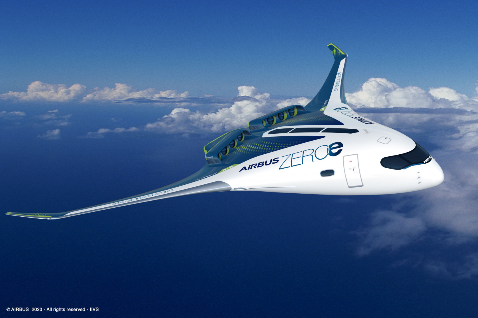 blended-wing, plane, future, airbus, travel, flight