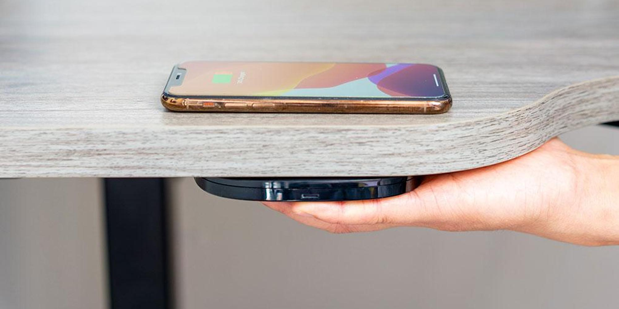 This wireless charger is invisible. You never see it, yet all your devices stay charged